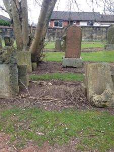 Elizabeth's unmarked grave
